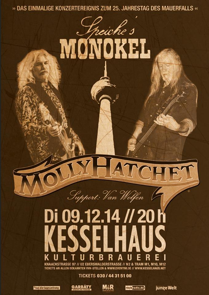 Molly - Monokel aktuelles Plakat